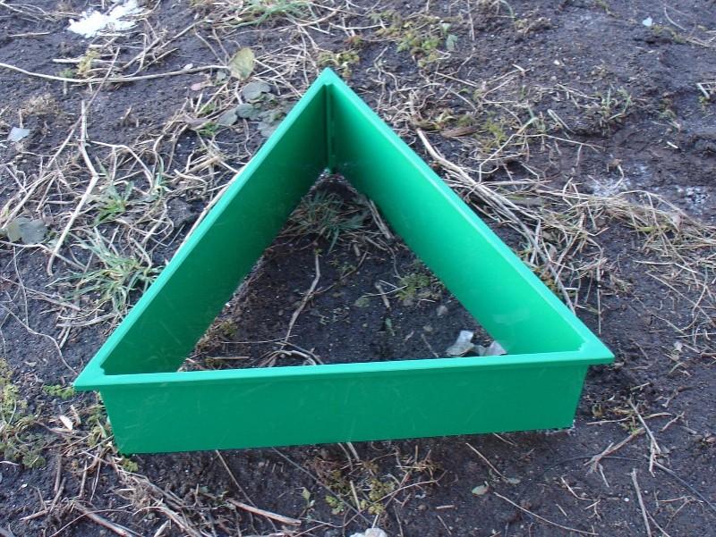 Треугольные Евро Грядки от 14-18 см