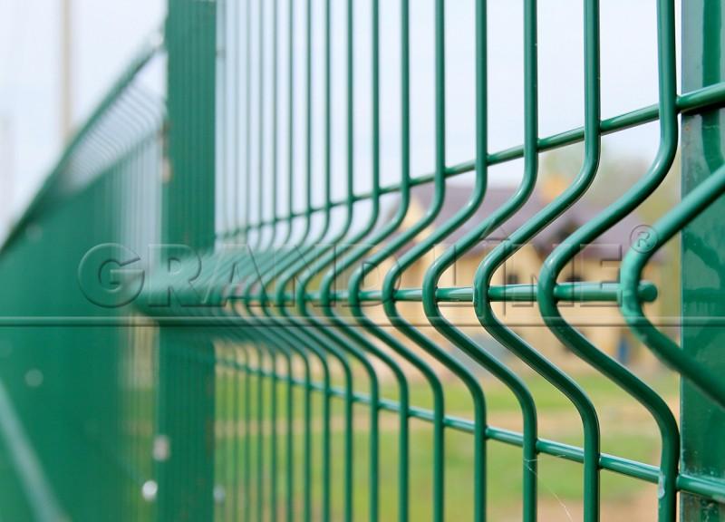 Забор Панельный 3D