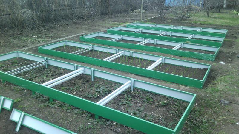 Садовые евро грядки 14 см