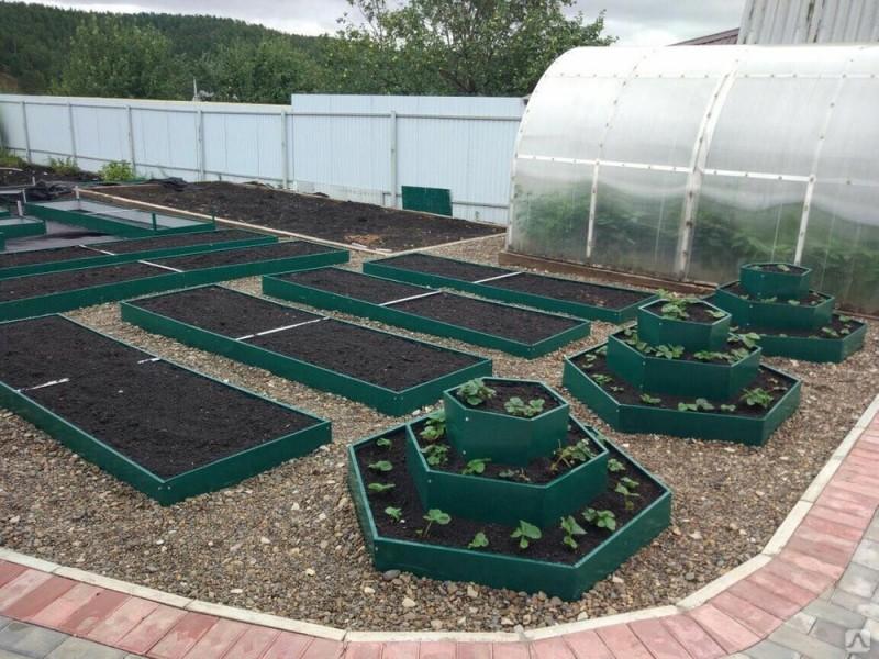 Садовые евро грядки 11 см